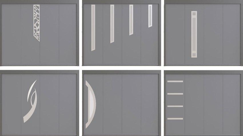 Les sécors inox pour personaliser votre porte de garage