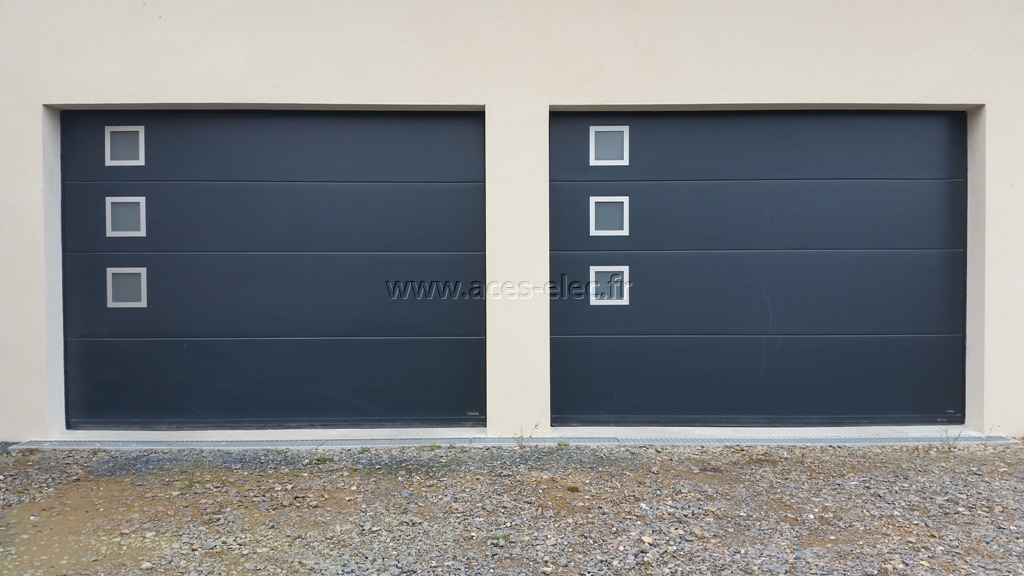 Vente, pose et dépannage de porte de garage electrique autour de cholet