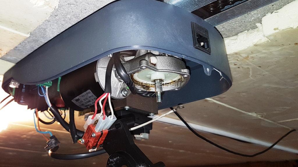 dépannage moteur de Porte de garage